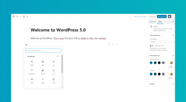 WordPress 5.0